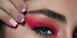 makijaż oczu i brwi
